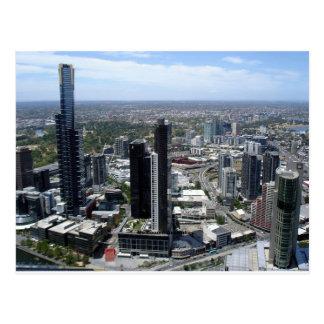 Melbourne Australia skyline Postcard