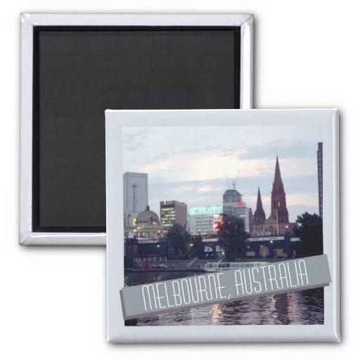 Melbourne Australia Travel Souvenir Fridge Magnet