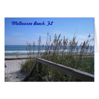 Melbourne Beach, FL Card