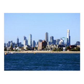Melbourne CBD Postcard