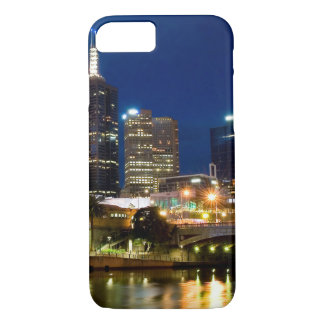 Melbourne Cityscape iPhone 7 Case