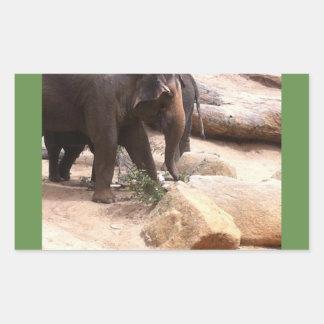 Melbourne Elephants Rectangular Sticker