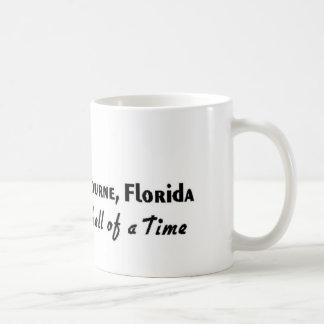 Melbourne, Florida Crab Basic White Mug