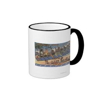 Melbourne Florida - Large Letter Scenes Mug