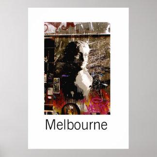 Melbourne Graffiti III Poster