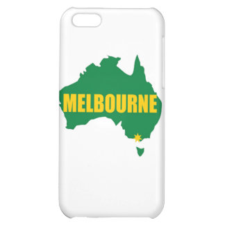 Melbourne Green and Gold Map iPhone 5C Cover