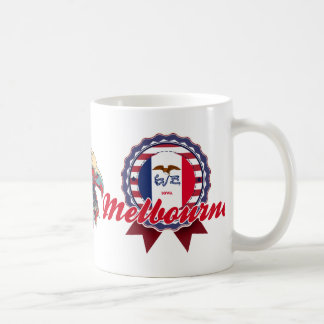 Melbourne, IA Coffee Mugs