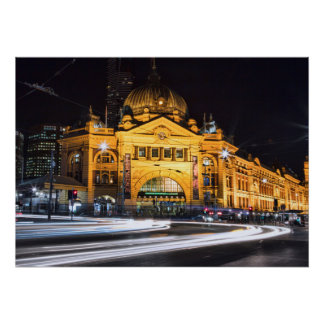 Melbourne Icon Poster