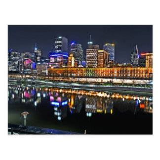 Melbourne in HDR 1 Postcard
