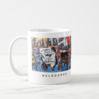 Melbourne Lanes [MUP001] Basic White Mug