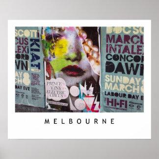Melbourne Lanes No.1 Poster