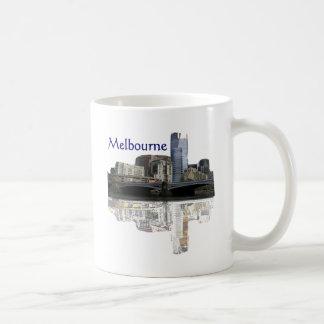Melbourne Classic White Coffee Mug