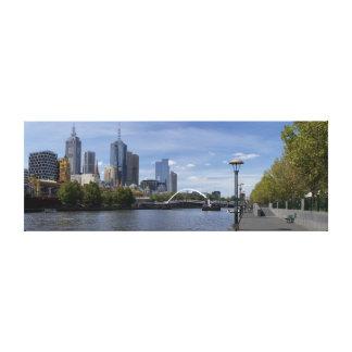Melbourne Panorama Canvas Prints