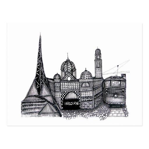 Melbourne Postcards
