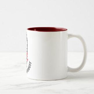 Melbourne SOCIT Classic White Two-Tone Coffee Mug