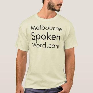 Melbourne Spoken Word.com tee