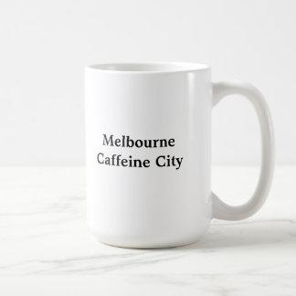 Melbourne Traveller Basic White Mug