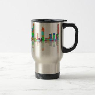 Melbourne Vic Skyline Travel Mug