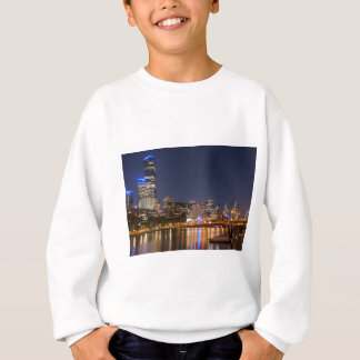 Melbourne' Yarra River at night Sweatshirt