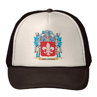 Melchor Coat of Arms - Family Crest Mesh Hat