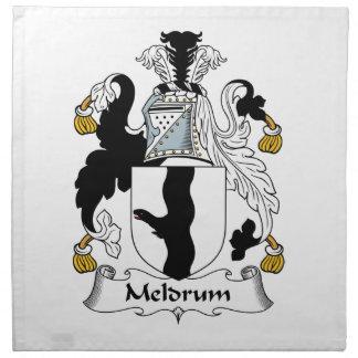 Meldrum Family Crest Napkin