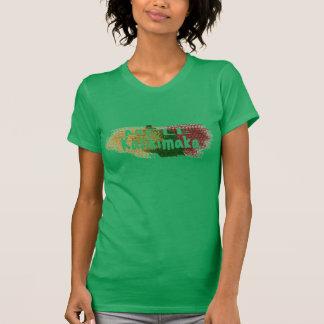 Mele Kalikimaka Hawaii glitter splatter T-Shirt