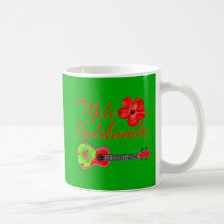 Mele Kalikimaka Ukulele Coffee Mug