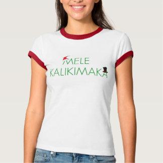 MELE KALIKIMAKA  WOMEN'S RETRO T-SHIRT