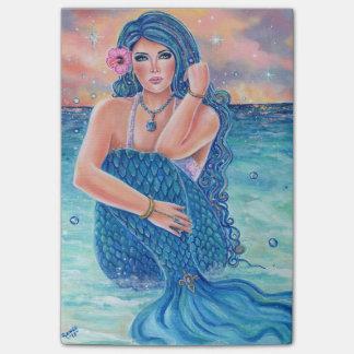 Melesandria tropical mermaid notepad by Renee