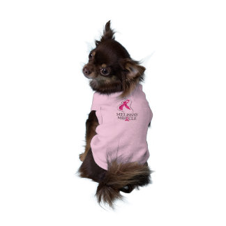 Melissa's Miracle Doggie Race Day Shirt Sleeveless Dog Shirt