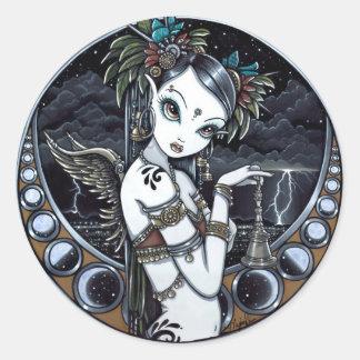 Melita Gothic Tribal Fusion Dancer Art Stickers