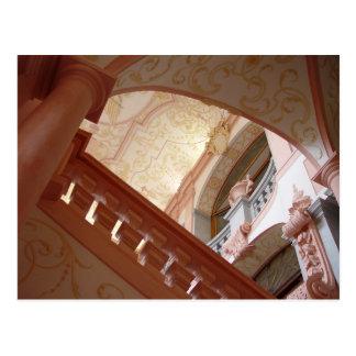 Melk Abbey Interior Melk, Austria Postcard