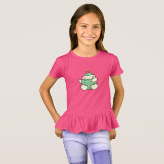MELLO | Girls' Ruffle T-shirt