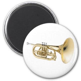 Mellophone 6 Cm Round Magnet