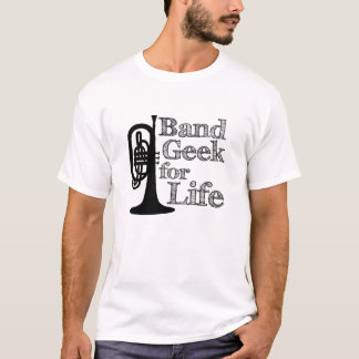 Mellophone - Band Geek for Life T-Shirt