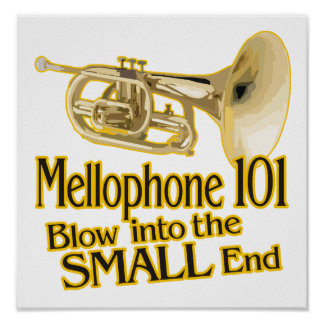 Mellophone Poster