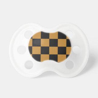 Mellow Mustard Checkerboard Dummy