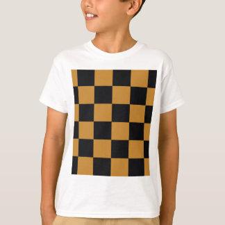 Mellow Mustard Checkerboard T-Shirt