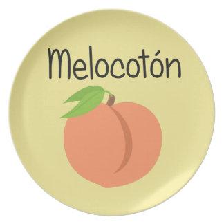 Melocoton (Peach) Plate