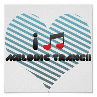 Melodic Trance fan Print