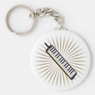 Melodica Basic Round Button Key Ring