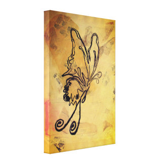 Melody Butterfly - Canvas