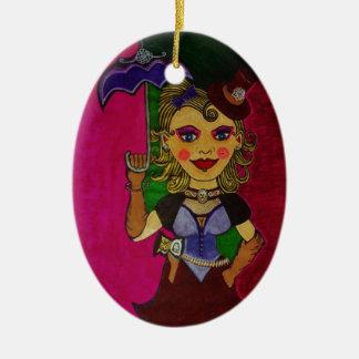 """Melody"" Ceramic Ornament"