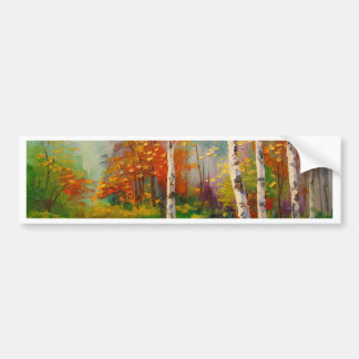 Melody of autumn bumper sticker