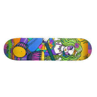 Melody Rainbow Guitar Fairy Skate Board Deck