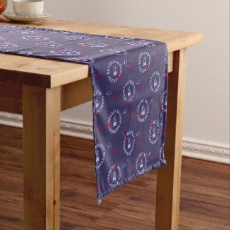 MELODY RHYTHM HARMONY (blue color) Short Table Runner