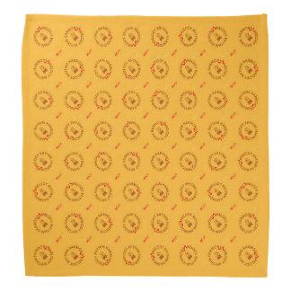 MELODY RHYTHM HARMONY (yellow version) Bandana