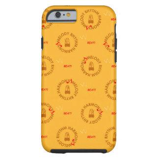MELODY RHYTHM HARMONY (yellow version) Tough iPhone 6 Case