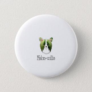 melon collie 6 cm round badge