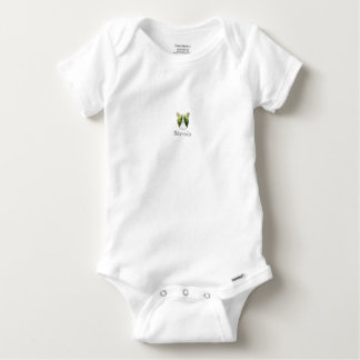 melon collie baby onesie